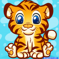Плюшевая Тигра