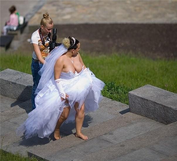 Самые нелепые невесты