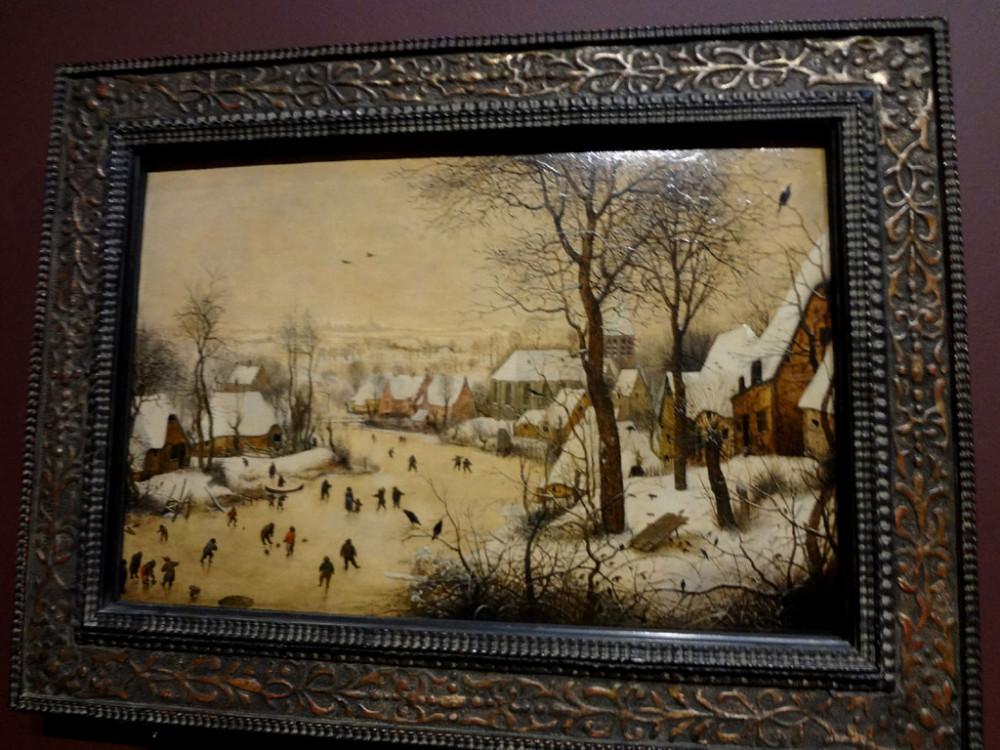 зимний пейзаж с конькобежцами.JPG